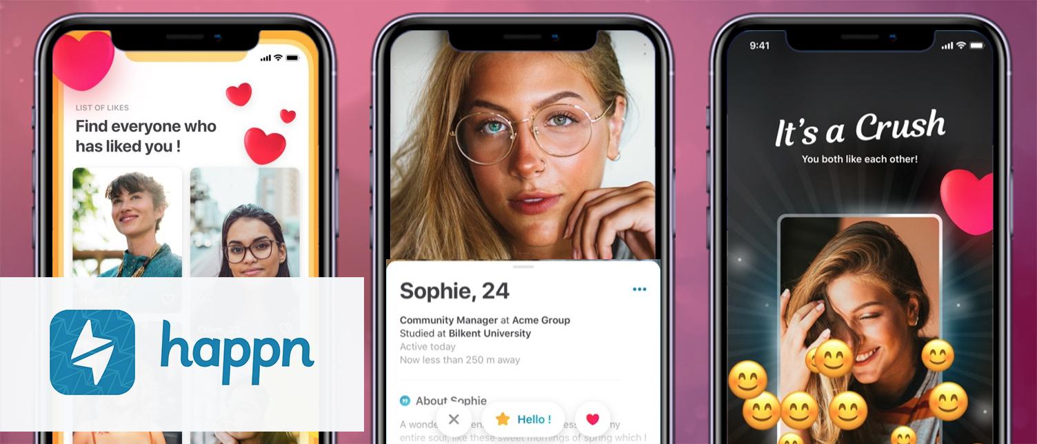 Happn app review, hoe werkt Happn? | Dating App Kiezen