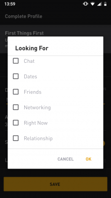 Backup grindr chat exported from