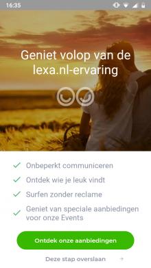 Lexa dating ervaringen