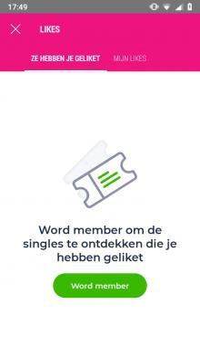 iPhone app voor online dating
