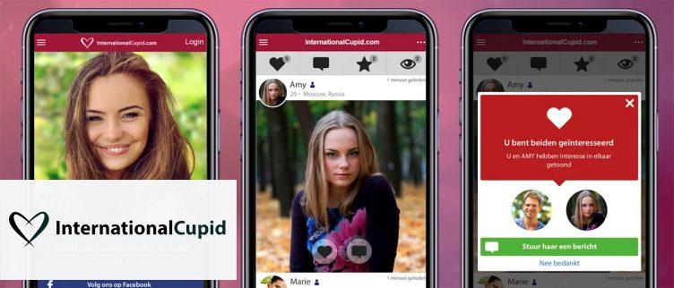 Screenshots InternationalCupid app