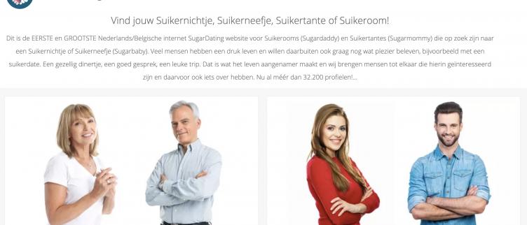 screenshots SuikerArrangement